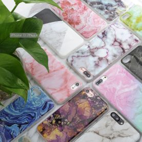 MARBLE PATTERN IMD CRAFTS TPU MATERIAL SOFT PHONE CASE FOR IPHONE 7 7PLUS 6S 6 PLUS SE 5S 5