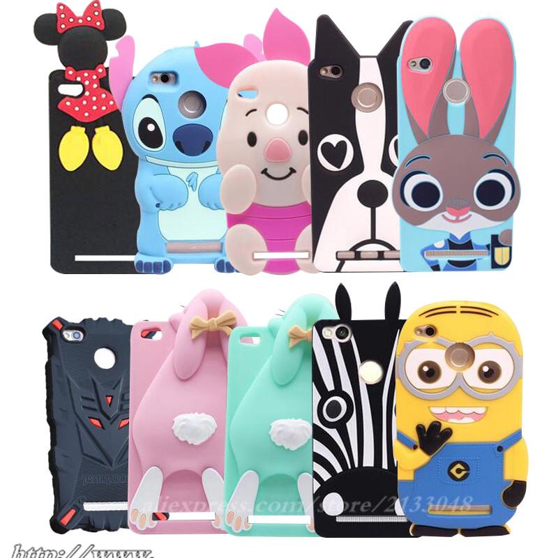 3D-cartoon-silicone-case-for-Xiaomi-redmi-3s-case-cover-For-xiaomi-redmi-3-s-phone