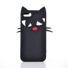 New Black Cat Cases For 6 6s 6Plus SE 5s 5 7 7Plus