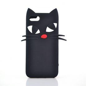 New Black Cat Cases For 6 6s 6Plus SE 5s 5 7 7Plus