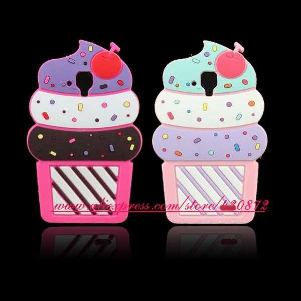 For-Lenovo-A536-HOT-3D-Silicon-Cat-Stitch-Cherry-Cupcake-Soft-Phone-Back-Skin-Cover-Case
