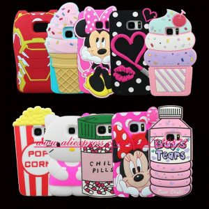 HOT-3D-Silicon-Cartoon-Cupcake-Batman-Bunny-Minnie-Sexy-Lip-Dog-Stitch-Soft-Cell-Phone-Case
