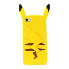 For iPhone 4 4s 5 5s SE 6 6s 7 6Plus 6sPlus 7Plus Case Pokemons Go Pokemons Pikachu Phone Case Silicone Cover