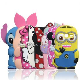 For Samsung Galaxy J1 Mini J105 J105H J105F/ J1 Nxt Duos Case Cartoon Minions Stitch Silicone Case Sulley Cat Pig Minnie Cover