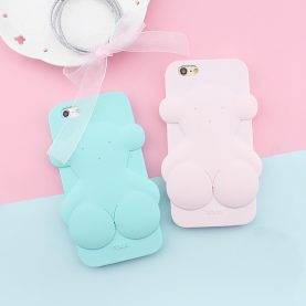 3D Lucky TOUS Bear Silicone Case For 6 6s 6Plus SE 5s 5 7 7Plus