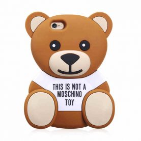 3D Cute Cartoon Brown Bear Soft TPU Silicone Rubber Case for iPhone 6 6s 7/ 6 Plus 7Plus/ 5s 5 SE/ 4 4s Cell Phone Bags Cover