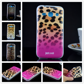 For Samsung Galaxy Star Advance G350E Luxury Puro Just Cavallis Leopard / Snake Print TPU Case Cover Phone Case