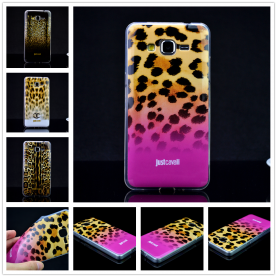 For Samsung Galaxy Grand Prime G530 G5308W G530H G5308 Luxury Puro Just Cavallis Leopard / Snake Print TPU Case Cover Phone Case