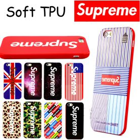 Multicolor Supreme Soft TPU Cover Cases For iphone 6 6s Phone Cases