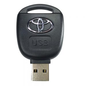 Free-shipping-high-quality-Toyota-key-USB-flash-drive-8G-16G-32G-64G-pen-drive-exquisite