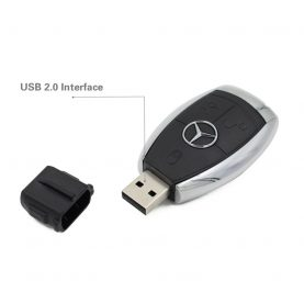 Mercedes-Benz car keys U disk USB 8GB 16GB 32GB 2.0 USB flash drive USB storage drive pen drive pendrive