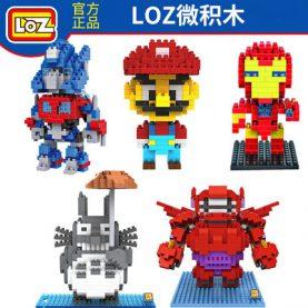 LOZ Finding Dory Nemo Figure Blocks Toy LOZ Diamond Building Blocks iblock fun Toy