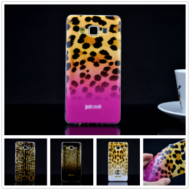 For Samsung Galaxy A5 2015 A5000 Luxury Puro Just Cavallis Leopard / Snake Print TPU Case Cover Phone Case