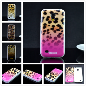 For Samsung galaxy s4 mini i9190 i9192 i9195 Luxury Puro Just Cavallis Leopard / Snake Print TPU Case Cover Phone Case