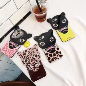 For iPhone 6 6s/ 7 Case IPHORIA Leopard grain leopard