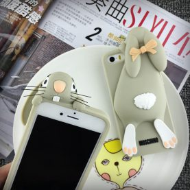 Sprawled Rabbit iPhone Case Phone Case For iphone 5 5s SE 6 6s 7 7Plus