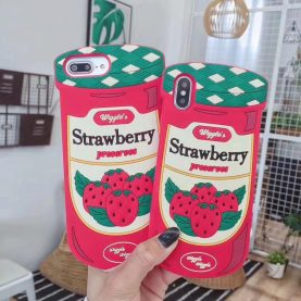 Strawberry Preserves 3D IPHONE CASE