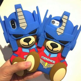 Moschino transformers bear 3D IPHONE CASE