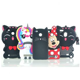 For Xiaomi Redmi 4X Case Cute Judy Sulley Unicorn Lucky Cat Bottle Cartoon Soft Silicone Phone Cases Covers For Redmi 4 X