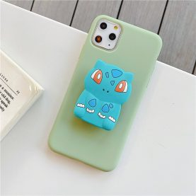 Charizard Squirtle Bulbasaur Grip For Samsung Galaxy S6 S7 Edge S8 S9 S10 S20 Ultrar FE Note 5 8 9 10 20 Plus Cover