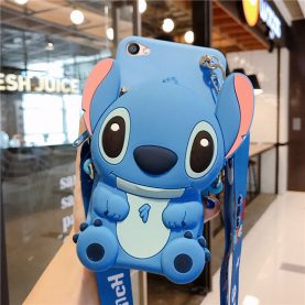 FOR Xiaomi Redmi Cover STITCH MINNIE MICKEY Wallet Bag Soft TPU Silicone Case
