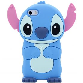 For iPhone 5 5s SE 6 6s 7 6 Plus 7 Plus X Xs Max XR 11 12 Pro Max Cute 3D Stitch Cartoon Silicone Phone Cases Covers